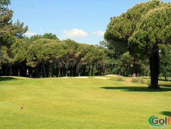 Par 3 du golf compact de La Grande Motte proche de Montpellier dans l'Hérault