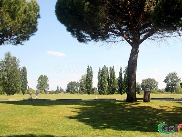 Le practice du golf de La Grande Motte proche de Montpellier dans l'Hérault
