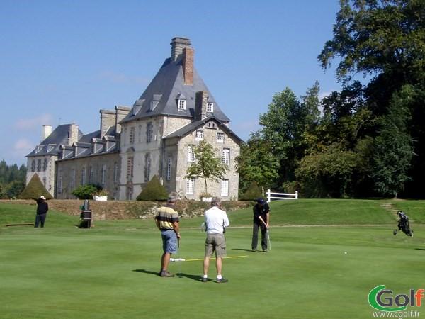 Chateau du golf de la Grange aux Ormes en Lorraine à Marly en Moselle