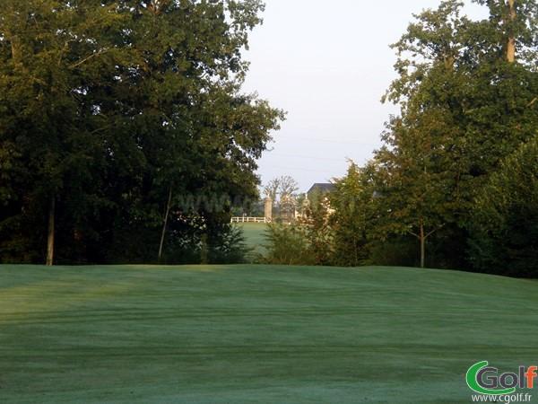 Fairway du golf de la Grange aux Ormes à Marly en Lorraine sur le Parcours du Breuil en Moselle