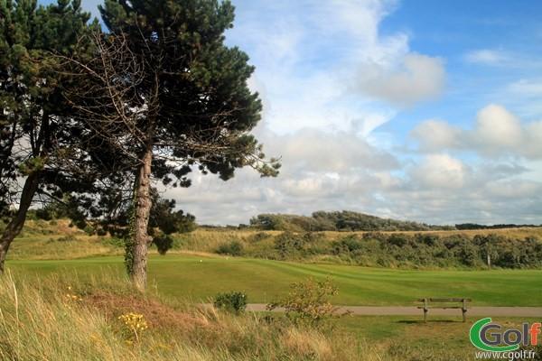 Départ n°1 du golf du Touquet Parcours La Mer en Nord-Pas-de-Calais sur la Côte d'Opale
