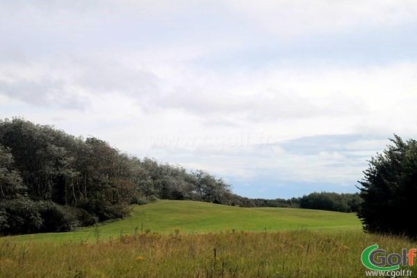 Fairway du golf du Touquet Parcours La Mer dans le Nord-Pas-de-Calais sur la Côte d'Opale