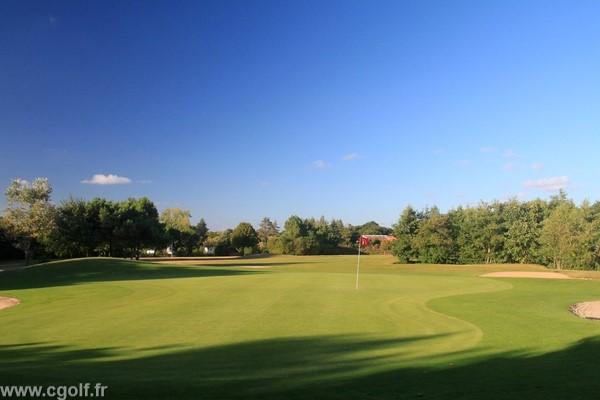 Green n°11 du golf des Fontenelles en Vendée Pays de Loire à l'aiguillon sur Vie
