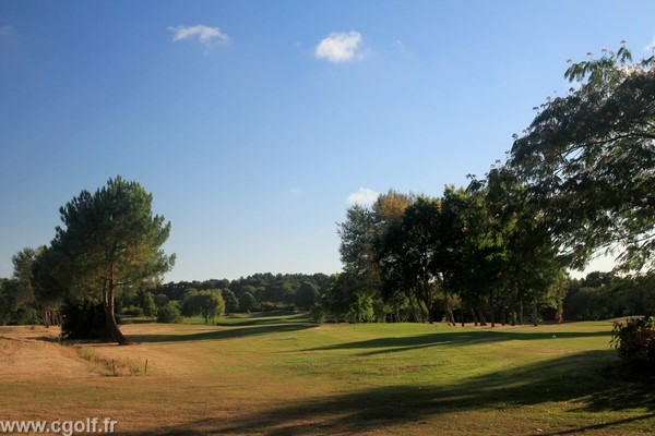 Départ n°1 du golf des Fontenelles à l'Aiguillon sur Vie Payde de Loire Vendée