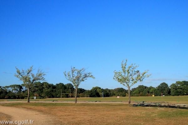 Practice du golf des Fontenelles en Vendée Pays de loire à l'Aiguillon sur Vie