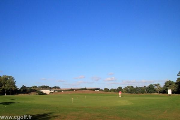Putting green du golf des Fontenelles en vendée Pays de Loire proche de Nantes
