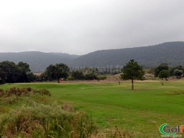 Par 3 du golf de Lezza à Porto-Vecchio en Corse du Sud proche de Bonifacio