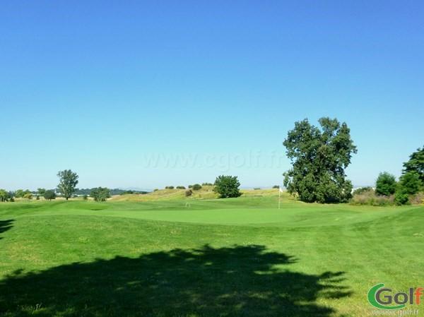 Green n°9 du golf de Lyon Chassieu en Rhone Alpes
