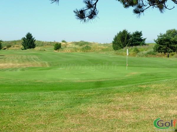 Green n°14 du golf de Lyon Chassieu proche de Villeurbanne en Rhône Alpes