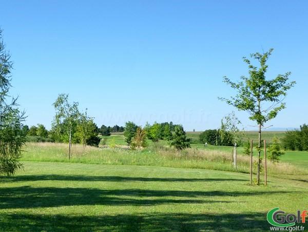 Fairway du golf de Lyon Verger Parcours le Pré neuf en Rhône Alpes à Saint-Symphorien-d'Ozon