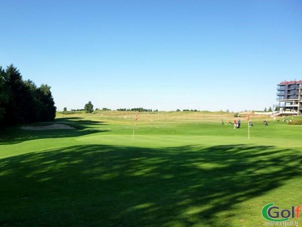 Pitching green du golf de Lyon Verger entre Lyon et Vienne en Rhône Alpes