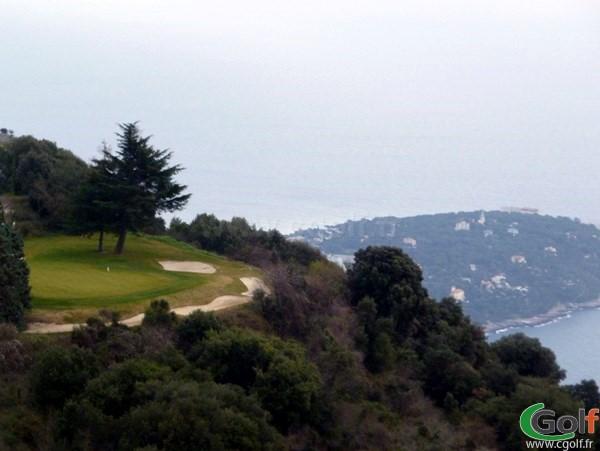 Le golf de Monte-Carlo à la Turbie dans les Alpes Maritimes sur la Cote d'Azur en PACA