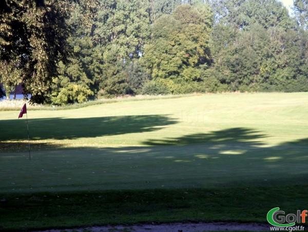 Trou n°9 du golf de Nampont-Saint-Martin Parcours Belvedère en Picardie dans la Somme