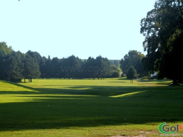 Trou n°1 du golf de Nampont parcours le Belvedère en Picardie dans la Somme