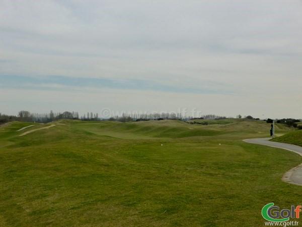 Le n°1 du parcours l'Aigle au golf National de Paris dans les Yvelines en Ile de France