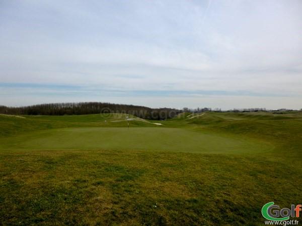 Green du golf National de Paris parcours l'Aigle dans les Yvelines en Ile de France