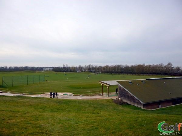 Le practice du golf National à Guynacourt dans les Yvelines proche de Paris
