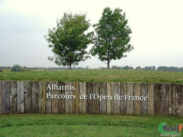 Le départ trou n°1 du parcours l'Albatros au golf National de Paris en Ile de France