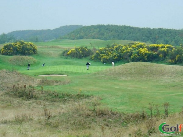 Rough fairway et green sur le golf National de Paris parcours l'Albatros dans les Yvelines