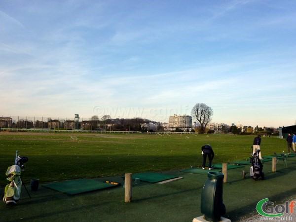Practice du country golf club à Saint Cloud porche de Paris dans les Hauts de Seine