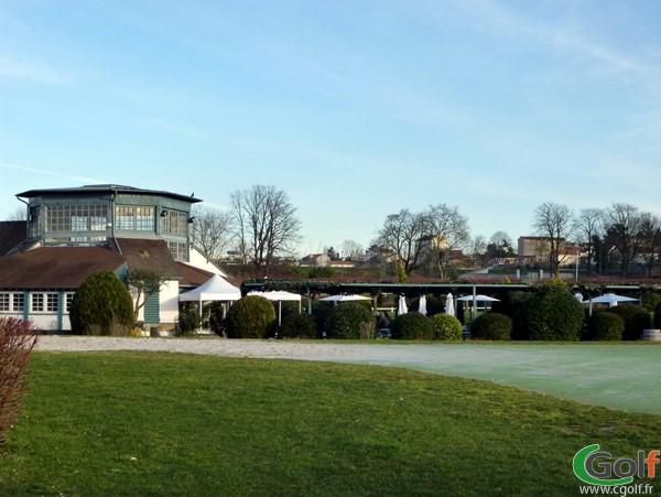 le club house du Golf Paris Country club à Saint Cloud en Ile de France