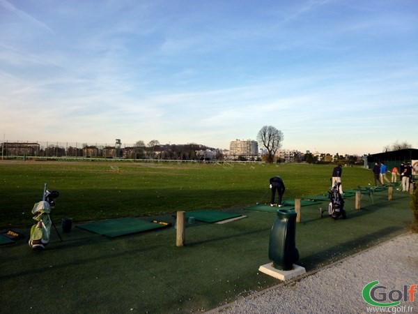 Practice du Paris golf Country Club dans les Hauts de Seine à Saint Cloud