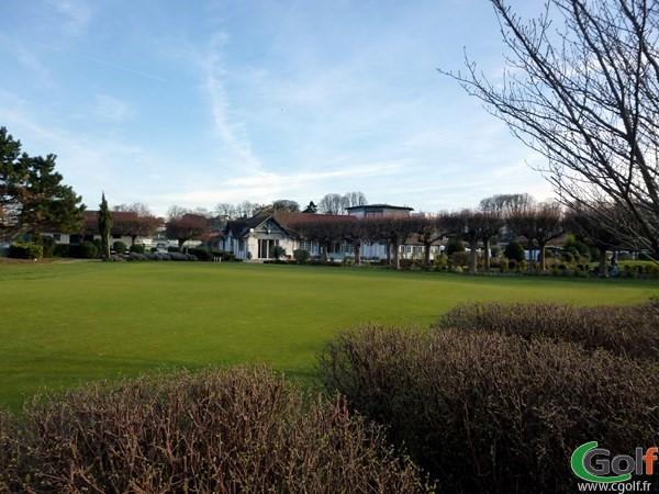 Putting green du Paris Golf Country club à Saint Cloud dans les Hauts de Seine