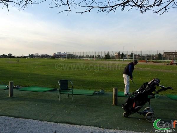 Practice du Paris golf Country Club à saint cloud en Ile de France dans les Hauts de Seine