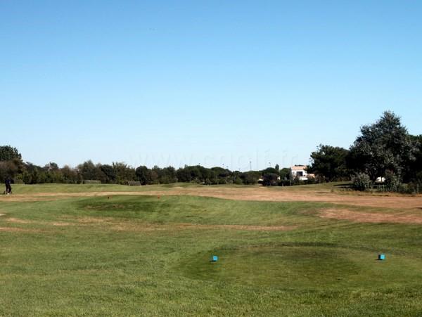 Départ n°1 du golf de Port Bourgenay à Talmont Saint Hilaire en Vendée Pays de Loire