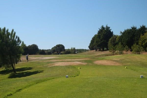 Départ n°3 du golf de Port Bourgenay Talmont Saint Hilaire en Vendée Pays de Loire