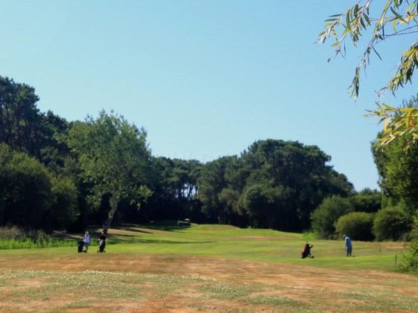 Départ n°4 en Vendée Pays de Loire du golf de Bourgenay à Talmont Saint Hilaire