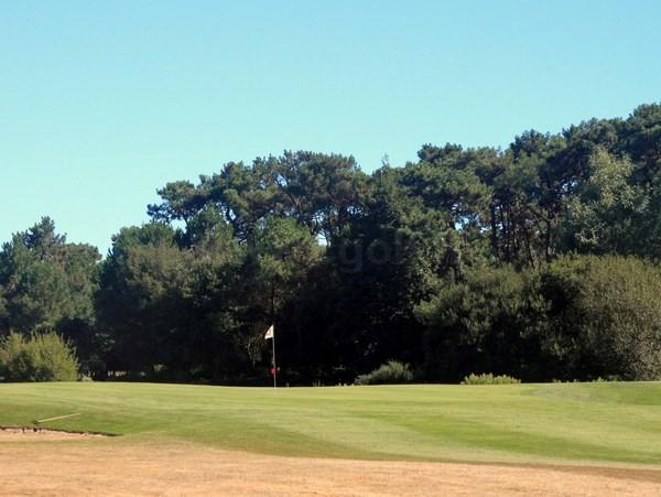 Green n°12 du golf de Port Bourgenay en Pays de Loire Vendée à Talmont Saint Hilaire