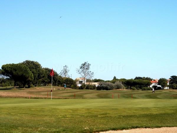 Green n°18 du golf de Bourgenay à Talmont Saint Hilaire en Vendée Pays de Loire