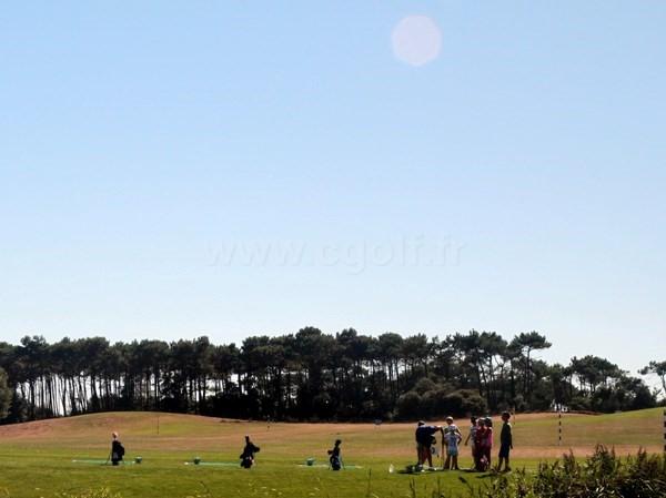 Practice du golf de Port Bourgenay à Talmont Saint Hilaire en Vendée