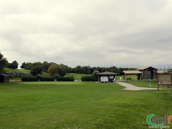 Vue générale du golf le Provençal à Biot Sophia Antipolis porche de Valbonne en PACA