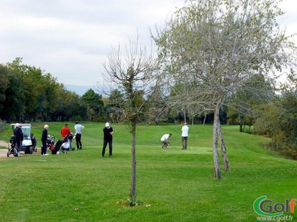 Le départ du n°1 du golf le Provençal à Valbonne Sophia Antipolis dans les Alpes Maritimes