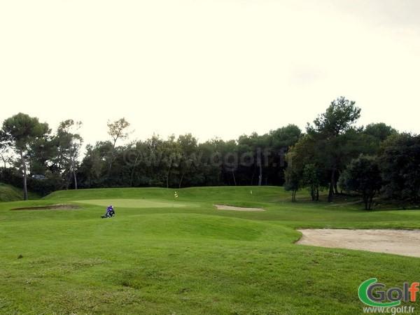 Le pitching green du golf le Provençal à Biot Sophia Antipolis proche de Valbonne