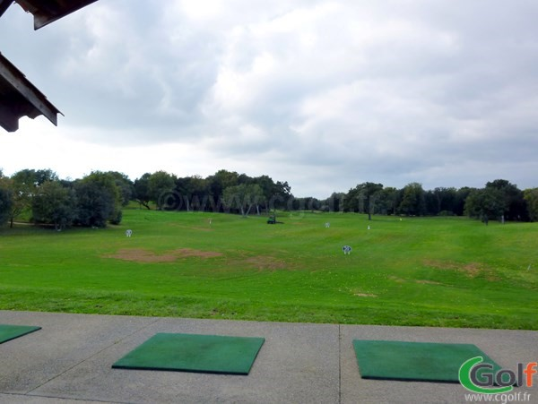 Le practice du golf Le Provençal à Biot Sophia Antipolis en PACA