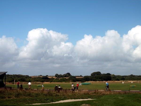 Practice du golf de Rhuys-Kerver en Bretagne dans le Morbihan à Saint-Gildas-de-Rhuys