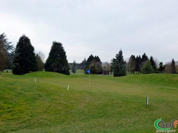 Green du n°9 du golf de Saint Aubin Les Bouleaux dans l'Essone proche de Paris
