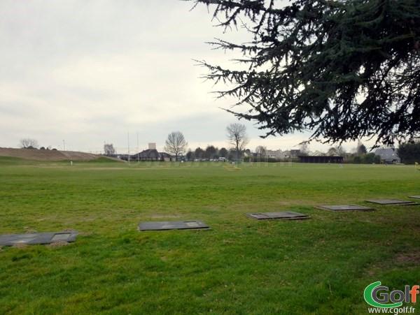 Practice du golf de Saint Aubin dans l'Essonne proche de Paris et Versailles