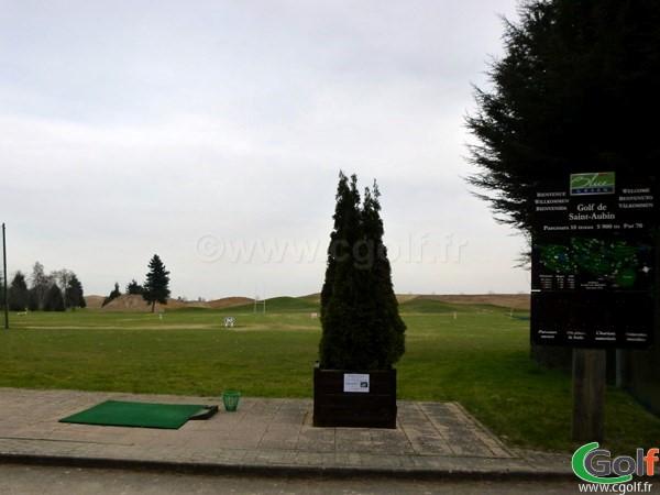 Le practice du golf de Saint Aubin Esonne Ile de France à proximité de Paris