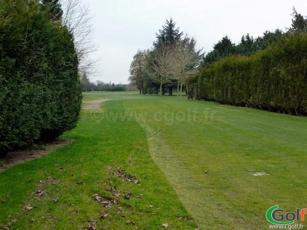 le départ n°12 du golf de Saint Aubin proche de Paris dans l'Essonne en Ile de France