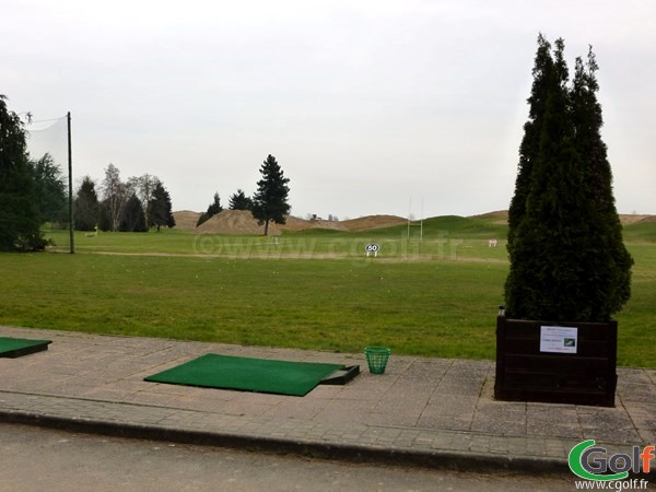 Le practice du golf de Saint Aubin dans l'Essonne en Ile de France proche de Paris