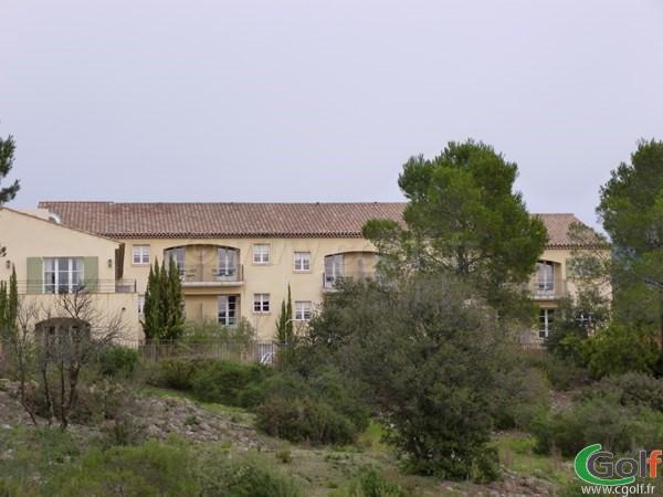 L'Hotel du golf du domaine de Saint Endréol à La Motte dans le Var en PACA