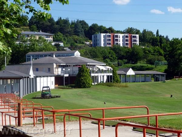 Club house du golf de Saint-Etienne en Rhône-Alpes département de la Loire