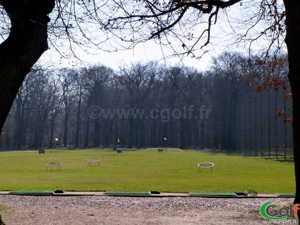 Practice du golf de Saint-Germain-en-Laye dans les Yvelines proche de Paris
