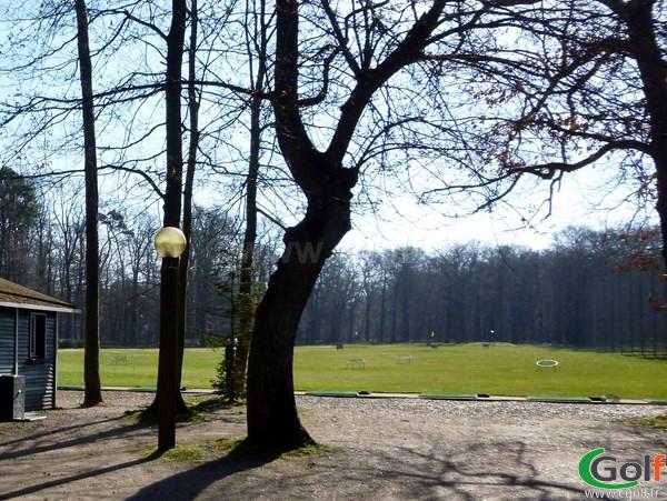 Practice du golf de Saint-Germain-en-Laye proche de Paris dans les Yvelines
