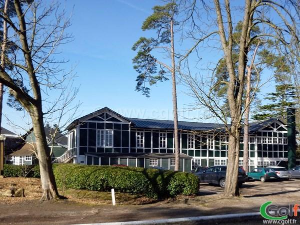 Club House du golf de Saint-Germain-en-Laye en Ile de France dans les Yvelines