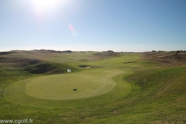 Green n°18 du golf de Saint-Jean-de-Monts en Vendée Pays de Loire Atlantique